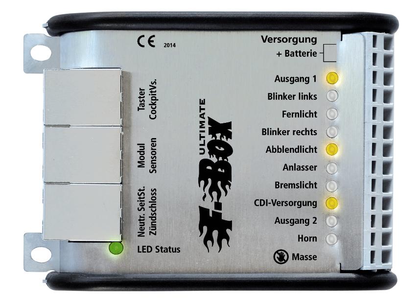 Fellner Mechatronik: Tastersteuerung für Motorrad / Keys / buttons ...